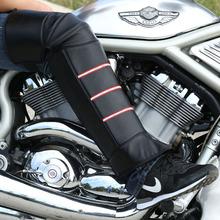 冬季骑电车摩托车保暖防寒护腿加绒加厚中长护膝防掉防风短款护具