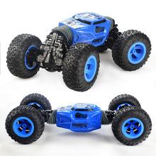 Xe điều khiển từ xa xe bốn bánh leo núi biến dạng xe địa hình xe máy xoắn Trịnh Châu xe RC trẻ em mô hình điện điều khiển từ xa xe đồ chơi Xe điện điều khiển từ xa