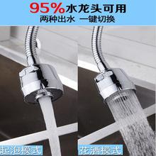 水龍頭防濺頭加長延伸器廚房家用自來水花灑節水通用萬能過濾頭嘴