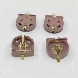 CR1220 SMD battery holder 3V BS-1220-2/ CR1220 gold-plated high temperature resistant SMD battery holder