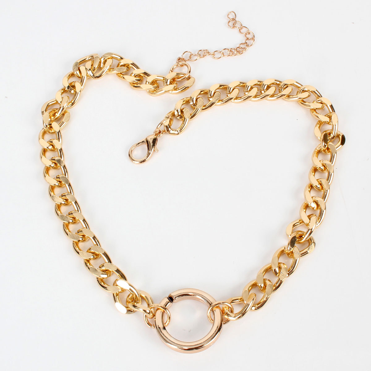 Personality accessories new chain circle stitching womens necklace women necklace NHCT181567