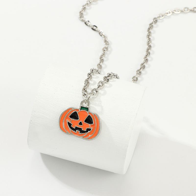 New Halloween Funny Pumpkin Necklace NHNZ153581