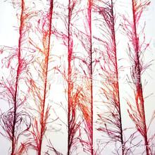 亮片松树纱 松树毛 彩色手编线 涤纶长毛纱 地毯纱 段染花式纱线