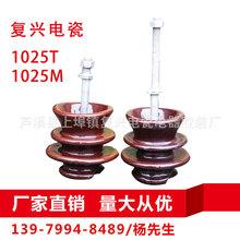 【复兴电瓷】高低压电瓷悬式针式柱式线路绝缘子1025T 1025M 批发