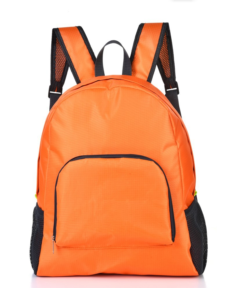 Factory Wholesale Korean Version Of The Outdoor Sports Backpack Travel Backpack Nylon Portable Skin Package Folding Storage Bag