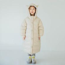 恶魔 Liu原创设计童装男女造型Pawpaw儿童日系连帽拉链衫羽绒服