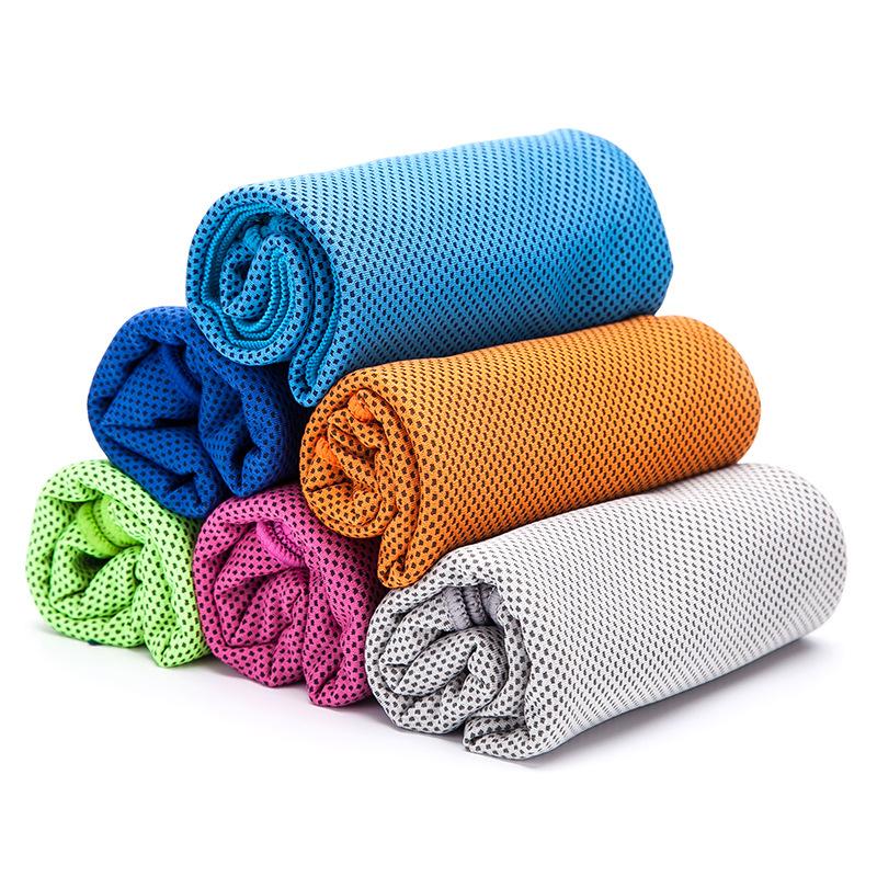 厂家批发冷感毛巾降温户外运动毛巾冰巾健身吸汗冰凉毛巾特价清仓