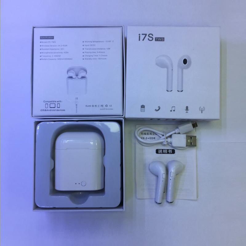 新款马卡龙 I7S TWS蓝牙耳机 I11无线蓝牙耳机 TWS对耳5.0耳机