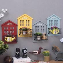面包房蛋糕店鋪創意壁飾墻掛草掛飾植物墻面掛件墻上蛋糕店裝飾品