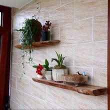 欧式实木置物架墙上壁挂花架隔板搁板层板阳台客厅墙壁展示架