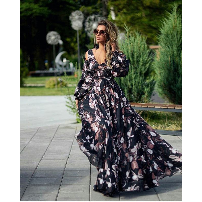 New European and American women's foreign trade dress in summer 2020