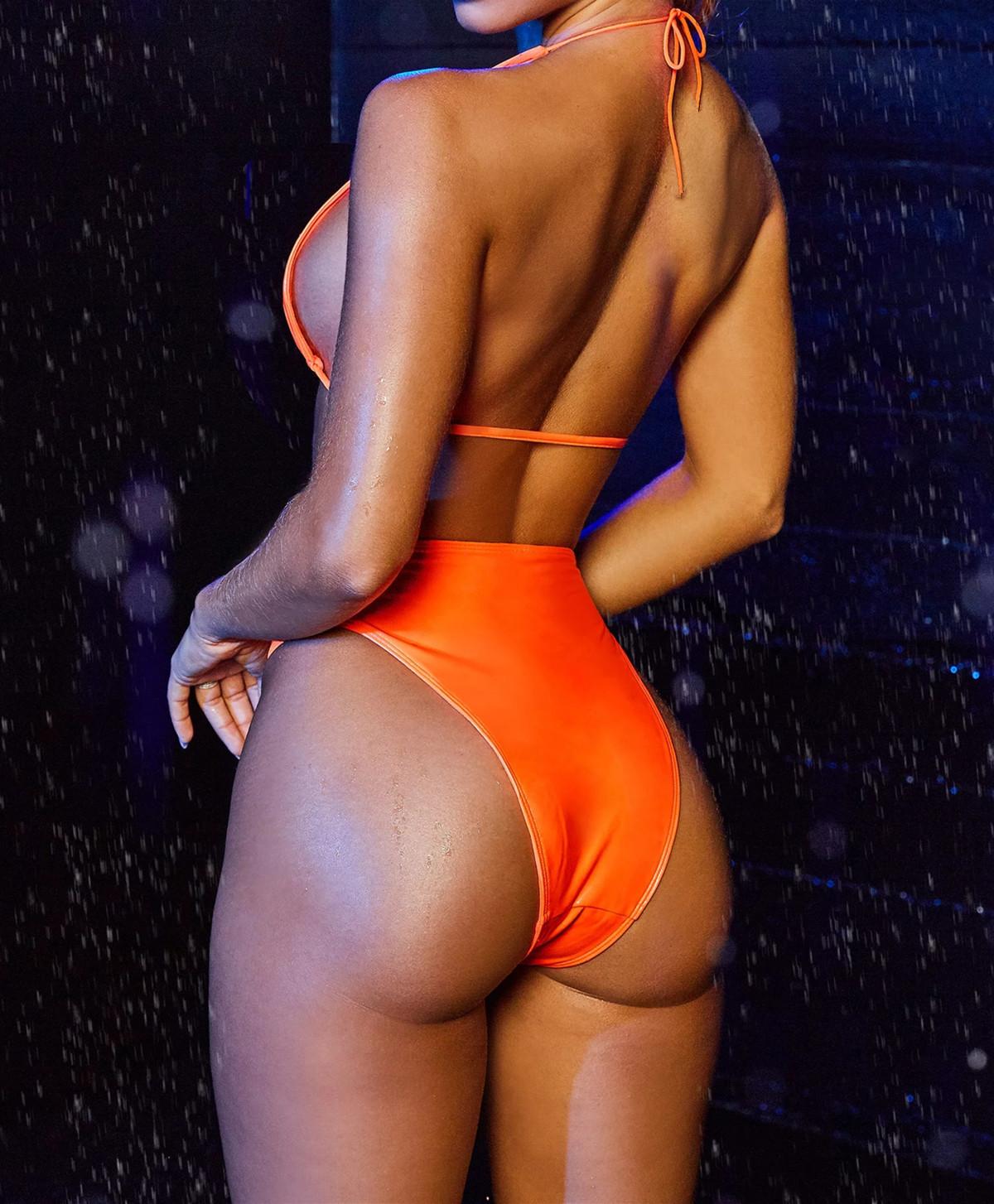 New Hot Bikini Swimwear Ladies Split Halter Bikini NSDA2186