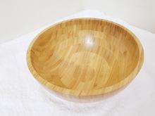 餐具飯碗 大號竹碗木質沙拉碗 木碗竹盆 竹子竹木家用日式攪拌盆