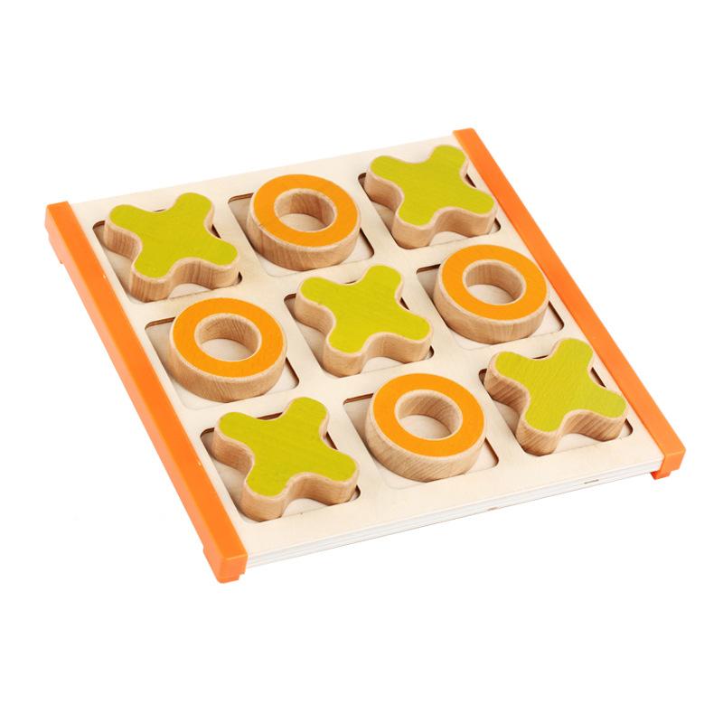 Монгольский клан обучения в раннем возрасте учить инструмент деревянный живая три выключить игра настольные наряд детский сад головоломка строительные блоки головоломка игрушка