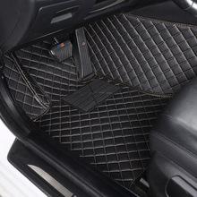 2017款大众速腾1.6L180TSI 230TSI全包围隔音汽车脚垫 环保无异味