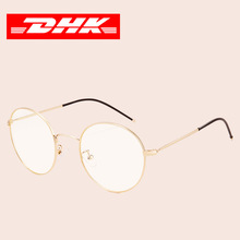 复古镜架男平光眼女镜复古圆形无度数眼镜框女可配近视眼镜架2313