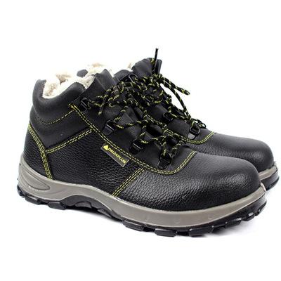 冬季款棉鞋 中帮加绒防静电安全鞋