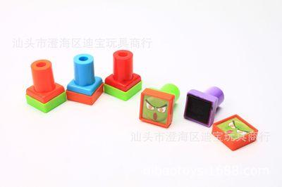 方形印章扭蛋玩具赠品