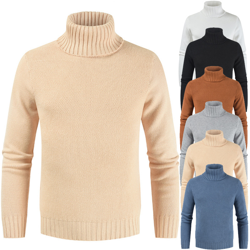 New style of men's pullover in autumn and winter of 2019