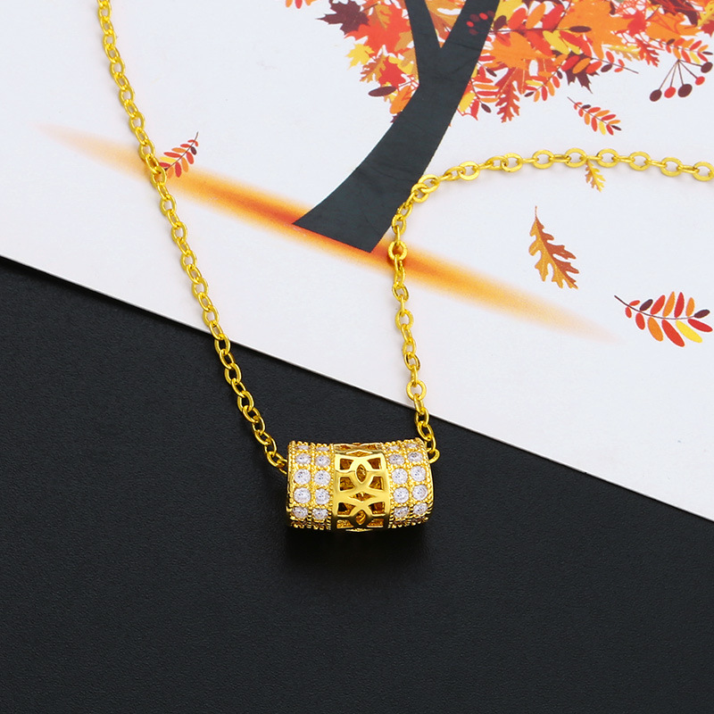 Alloy Simple Geometric necklace  (Alloy)  Fashion Jewelry NHAS0522-Alloy