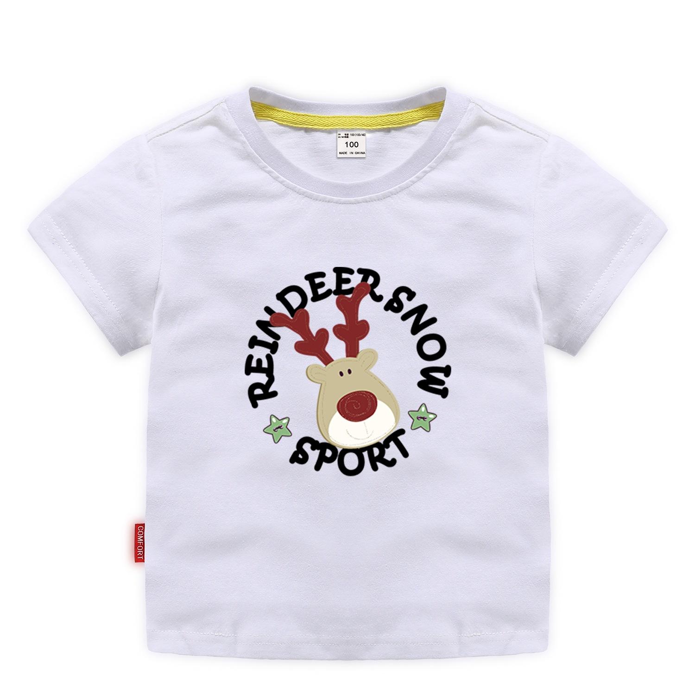 兒童短袖ins爆款2020夏季 卡通中小童T恤網店代理 韓版潮童裝短袖