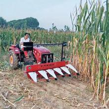 四輪拖拉機帶割艾機 玉米草專用高桿割倒機 甜葉菊苜蓿割曬機割臺