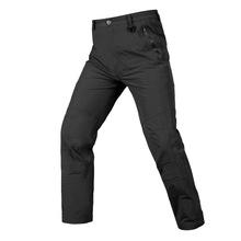 战术裤迷彩硬壳冲锋裤全压胶修身冲锋裤