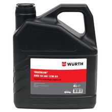 德国进口伍尔特WURTH 发动机机油 合成机油--10W40-4L 897610406