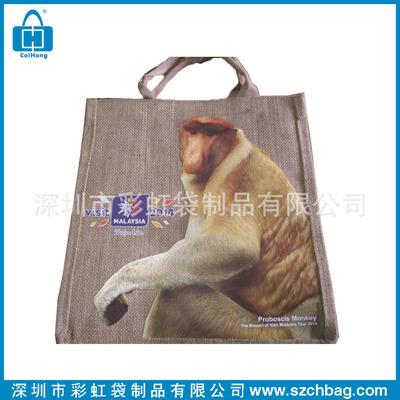 厂家供应麻布礼品袋 供应麻布打孔袋 生产供应麻布购物袋