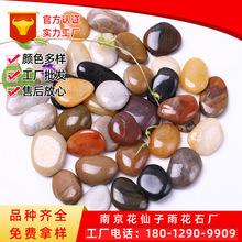 南京雨花石 精品抛光彩色鹅卵石 园林铺路鹅卵石 厂家直销价格