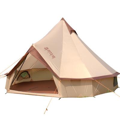 喜马拉雅蒙古包帐篷8-10人户外野营沙滩帐篷自驾游露营大帐篷包邮