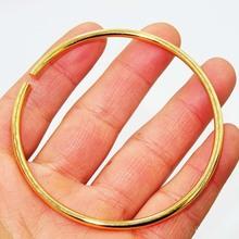 Thời trang Vòng đeo tay Panjia Mở vòng tay Giải nén Một thế hệ của vòng tay vàng cát có thể đeo tùy ý. Vòng tay