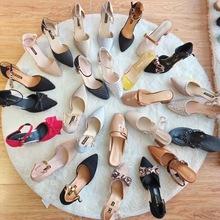 地摊鞋子批发1-10元女士时装单鞋厂家库存鞋低价清仓处理10元以下