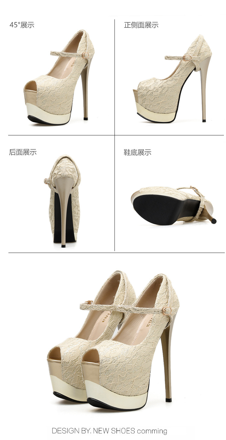Fashion pointed high heel stiletto shoes NHSO135038