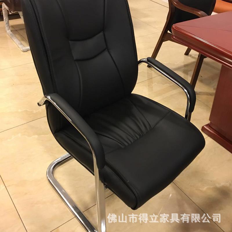 厂家直销办公家具皮质固定弓形电脑职员椅子简约现代会客椅会议椅