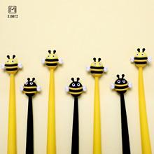品目可爱小清新蜜蜂软硅胶中性笔0.5创意造型签字水笔办公学生用