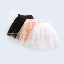 minikidhouse2019?#30446;?#23567;?#29575;?#21697;牌童装中童女童爆款蕾丝纱纱半裙