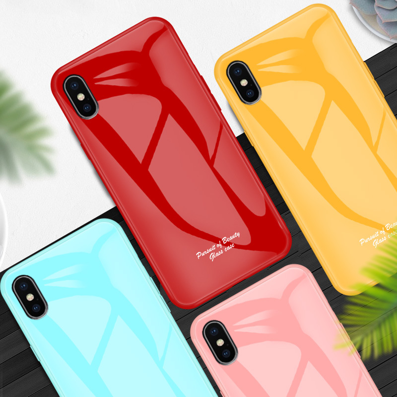iphone11 mobile phone case Huawei / oppo / vivo liquid tempered glass protective cover new NHKI205484
