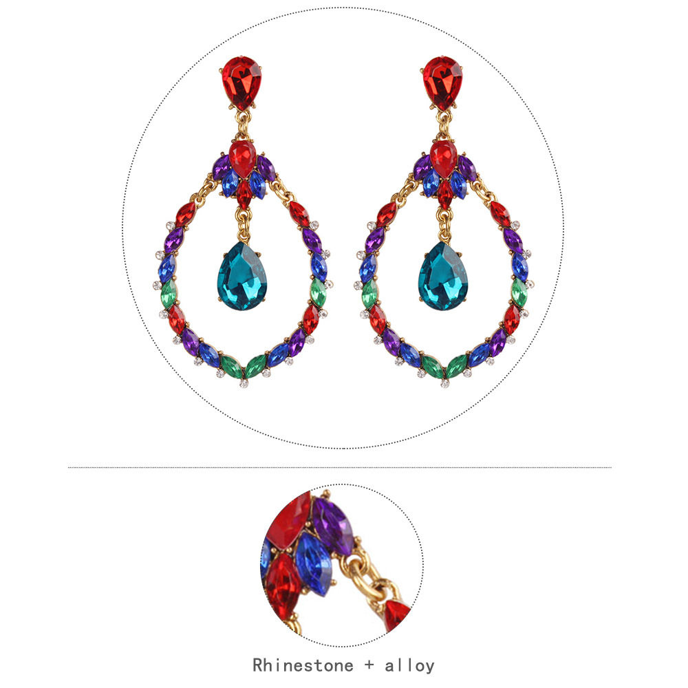 Alloy Fashion Geometric earring  (color)  Fashion Jewelry NHMD5185-color