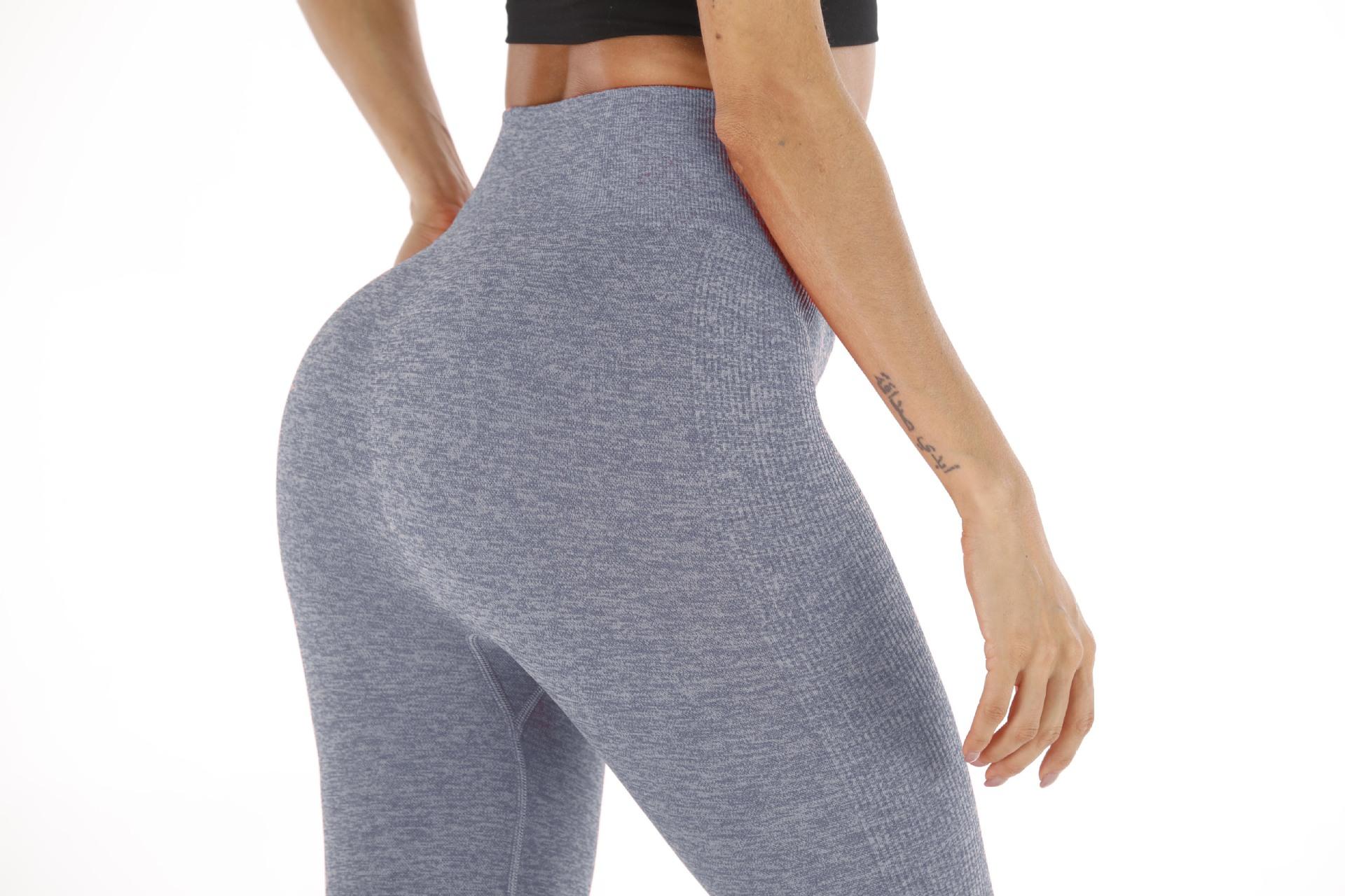 Striped hips yoga pants sports leggings NHMA153296