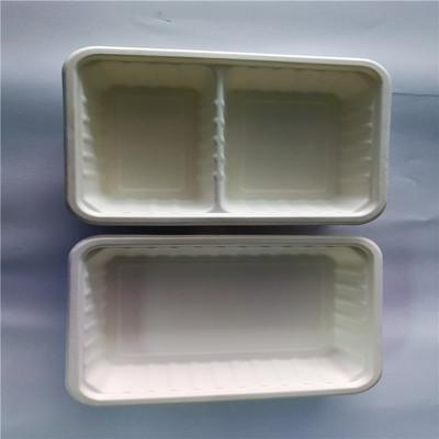 厂家直供纸浆餐盒餐盘 纸浆模塑 一次性饭盒