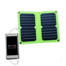 可折叠太阳能充电器11W5V手机充电宝充电板SUNPOWER单晶硅高效率