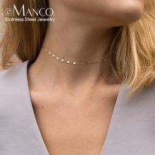 歐美外貿熱銷飾品 時尚簡約 銅瓜子鏈式項鏈扁嘴不銹鋼鏈女士頸鏈