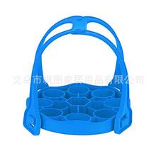 厨房硅胶垫 多功能鸡蛋蒸笼 手提蒸菜器 蒸蛋架 隔热垫高压锅配件