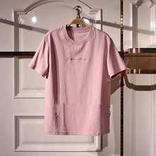 一件代发2019夏季新款时尚百搭潮流韩版宽松两色T恤女A4DA9220381