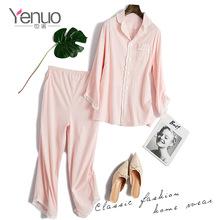也諾2019夏季新款孕婦裝時尚開衫純棉月子服產后哺乳睡衣薄款代發