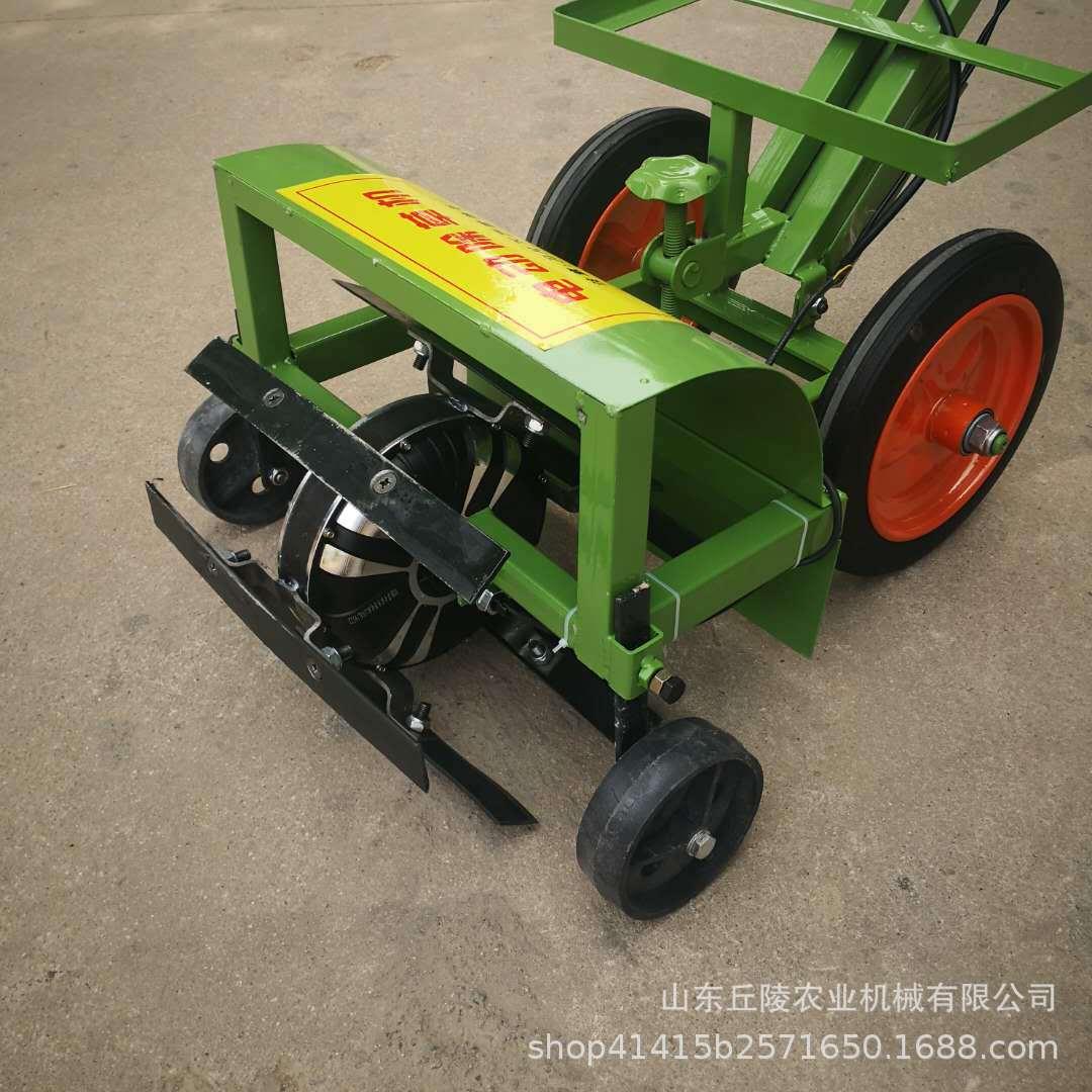 高效率电动除草机 手推式电动除草机 多功能小型割草翻土机