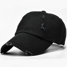 帽子男士纯棉黑色棒球帽女户外运动嘻哈帽休闲水洗鸭舌帽秋冬