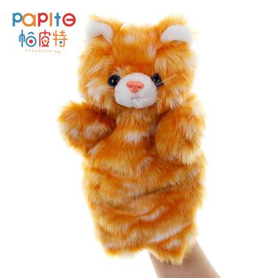 新款小动物毛绒玩具手偶儿童玩具家庭亲子游戏玩偶幼儿园上课道具