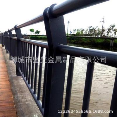 定制不锈钢复合管护栏   全国销售桥梁护栏  景观护栏